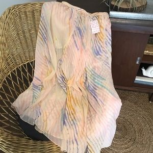 NWT Free People True To You Maxi Skirt